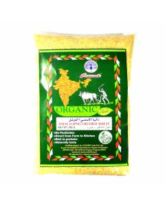 PEACOCK ORGANIC DALIYA (LAPSI) CRUSHED WHEAT 500GM