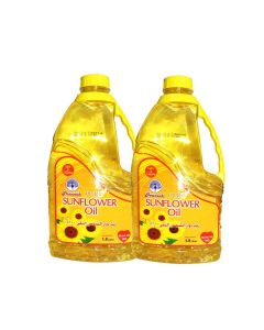 PEACOCK SUNFLOWER OIL 1.8L + 1.8LTR