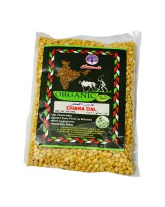 PEACOCK ORGANIC CHANA DAL 500 GM