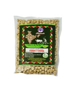 PEACOCK ORGANIC KABULI CHANA 500GM