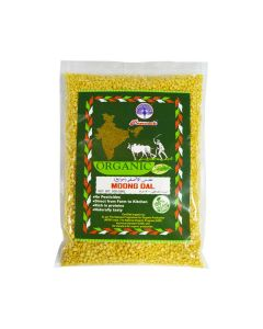 PEACOCK ORGANIC MOONG DAL 500GM