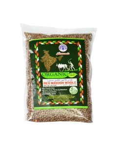 PEACOCK ORGANIC RED MASOOR WHOLE 500GM
