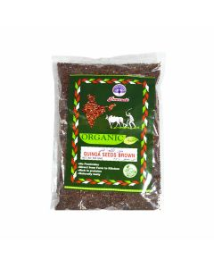 PEACOCK ORGANIC QUINOA SEEDS BROWN 500GM