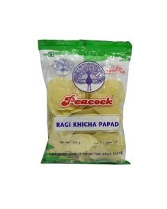 PEACOCK RAGI KHICHA PAPAD 200 GM