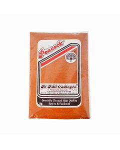 PEACOCK EXTRA HOT CHILY POWDER 500 GM