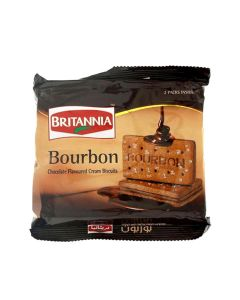 BRITANNIA BOURBON CREAM BISCUITS 200 GM