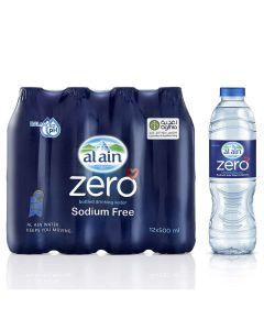 AL AIN WATER - ZERO 500ML X 12
