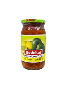 BEDEKAR MANGO LIME PICKLE 400GM