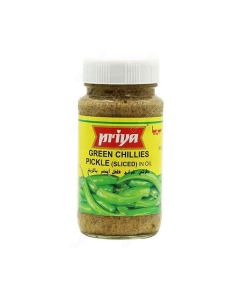 PRIYA GREEN CHILLI PICKLE 300G