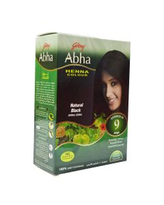GODREJ ABHA HENNA NATURAL HAIR COLOR 60GM