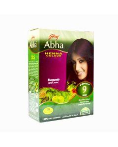 GODREJ ABHA HENNA HAIR COLOR BURGUNDY 60GM