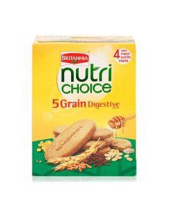 BRITANIA NUTRI CHOICE 5 GRAIN BISCUITS 200 GM