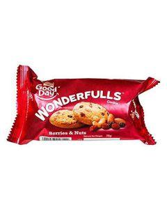 BRITANNIA WONDERFULLS BERRIES AND NUTS 75GM