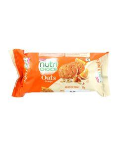BRITANNIA NUTRI CHOICE OATS COOKIES ORANGE 75 GM