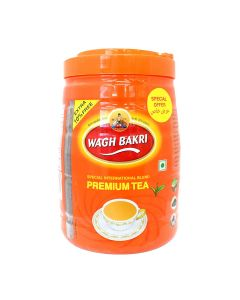 WAGH BAKRI PREMIUM TEA JAR 495GM