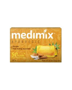 MEDIMIX SANDAL SOAP 125 GM