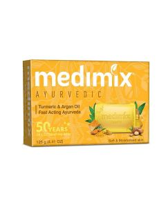 MEDIMIX TURMERIC SOAP 125G