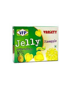VARIETY JELLY PINEAPPLE 90GM