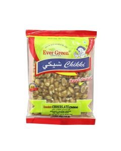 EVERGREEN GROUNDNUT CHOCOLATE CHIKKI 100GM