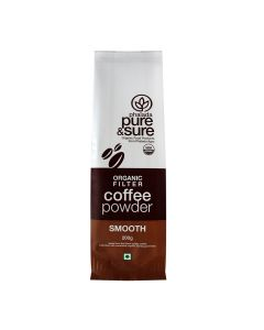 ORG PURE & SURE COFFEE POWDER  SMOOTH200GM
