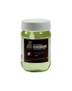 ORG PURE AND SURE E V COCONUT OIL 250 ML