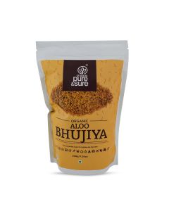 ORG PURE AND SURE ALOO BHUJIA 200GMS
