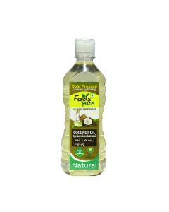 FOOD PURE COLD PRESSED COCONUT OIL 500ML