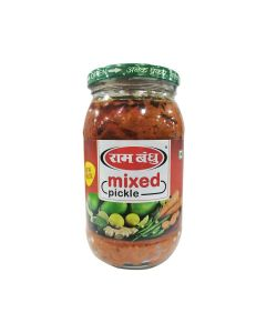 RAM BANDHU MIXED PICKLE  400 GM